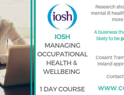 NEW IOSH Occupational Health and Wellbeing